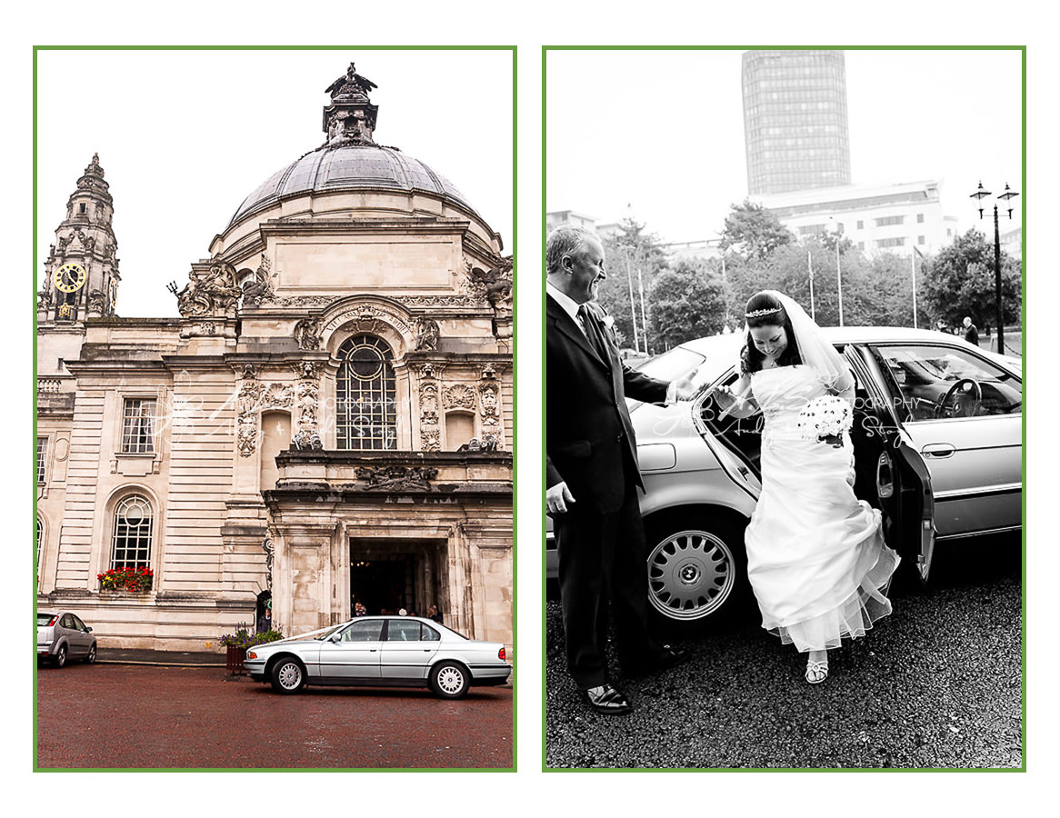 City Hall Cardiff Wedding Photography