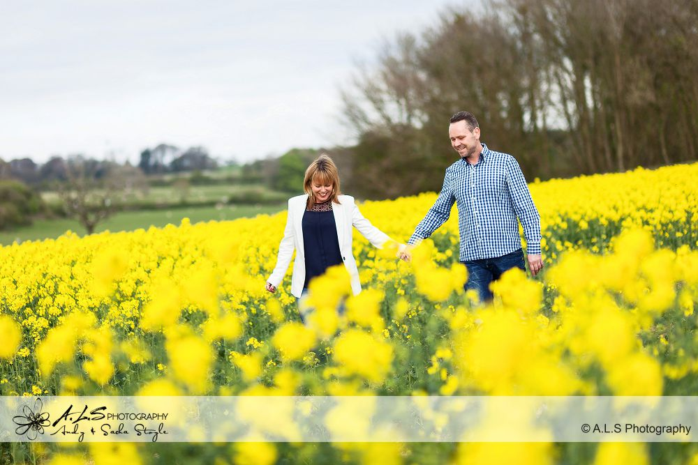 South Wales Portrait Photography at a Rapeseed field in the Vale of Glmaorgan