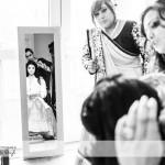 wedding photographer cardiff - bridal preperations