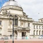 wedding photographer cardiff - City Hall