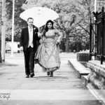 wedding photographer cardiff - umbrella
