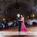 wedding photographer cardiff - first dance