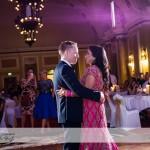 wedding photographer cardiff - first dance city hall