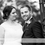wedding photographer cardiff - elmore court bride and groom