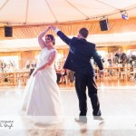 wedding photographer cardiff - elmore court first dance