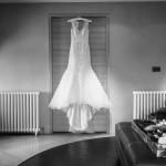 wedding photographer cardiff - roch castle wedding dress