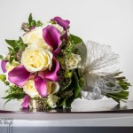 wedding photographer cardiff - roch castle bouquet