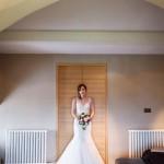 wedding photographer cardiff - roch castle bride