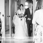 wedding photographer cardiff - roch castle bridal entrance