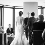 wedding photographer cardiff - roch castle wedding vows