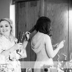 wedding photographer cardiff - canada lodge lake preperation