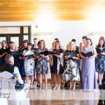 wedding photographer cardiff - canada lodge lake choir