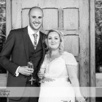 wedding photographer cardiff - canada lodge lake bride and groom