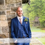 wedding photographer cardiff - canada lodge lake groom