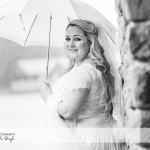 wedding photographer cardiff - canada lodge lake bride