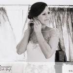 wedding photographer cardiff - oxwich bay hotel bride