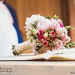 wedding photographer cardiff - oxwich bay hotel bouquet