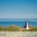 wedding photographer cardiff - oxwich bay hotel dunes