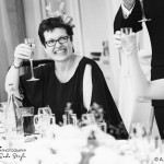 wedding photographer cardiff - oxwich bay hotel cheers