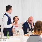 wedding photographer cardiff - oxwich bay hotel speeches