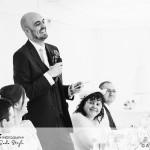 wedding photographer cardiff - oxwich bay hotel speech