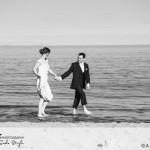 wedding photographer cardiff - oxwich bay hotel summer