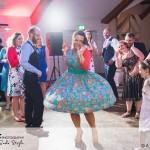 wedding photographer cardiff - coed y mwstwr bridgend dancing